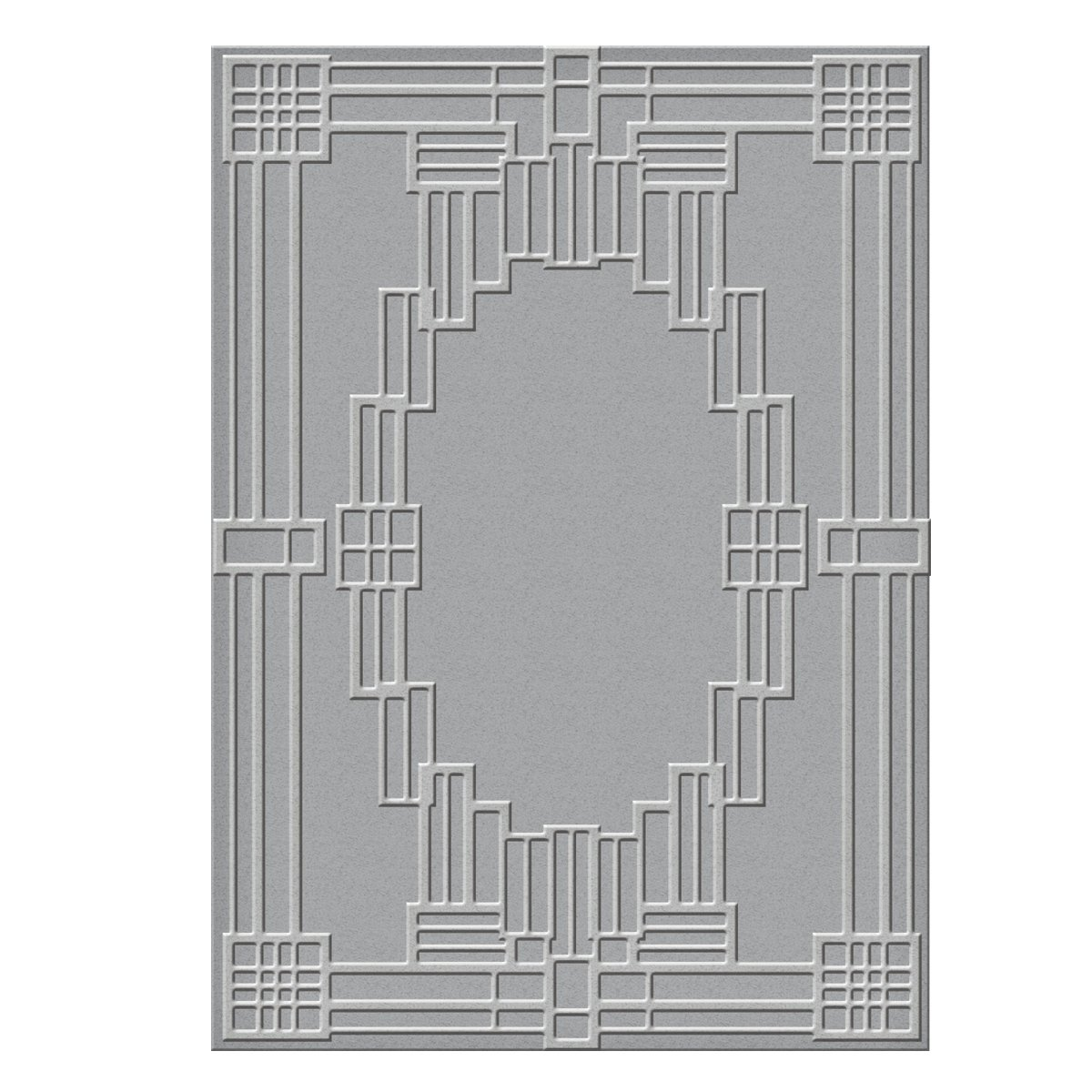 Spellbinders S6-071 Deco Squared Texture Plate