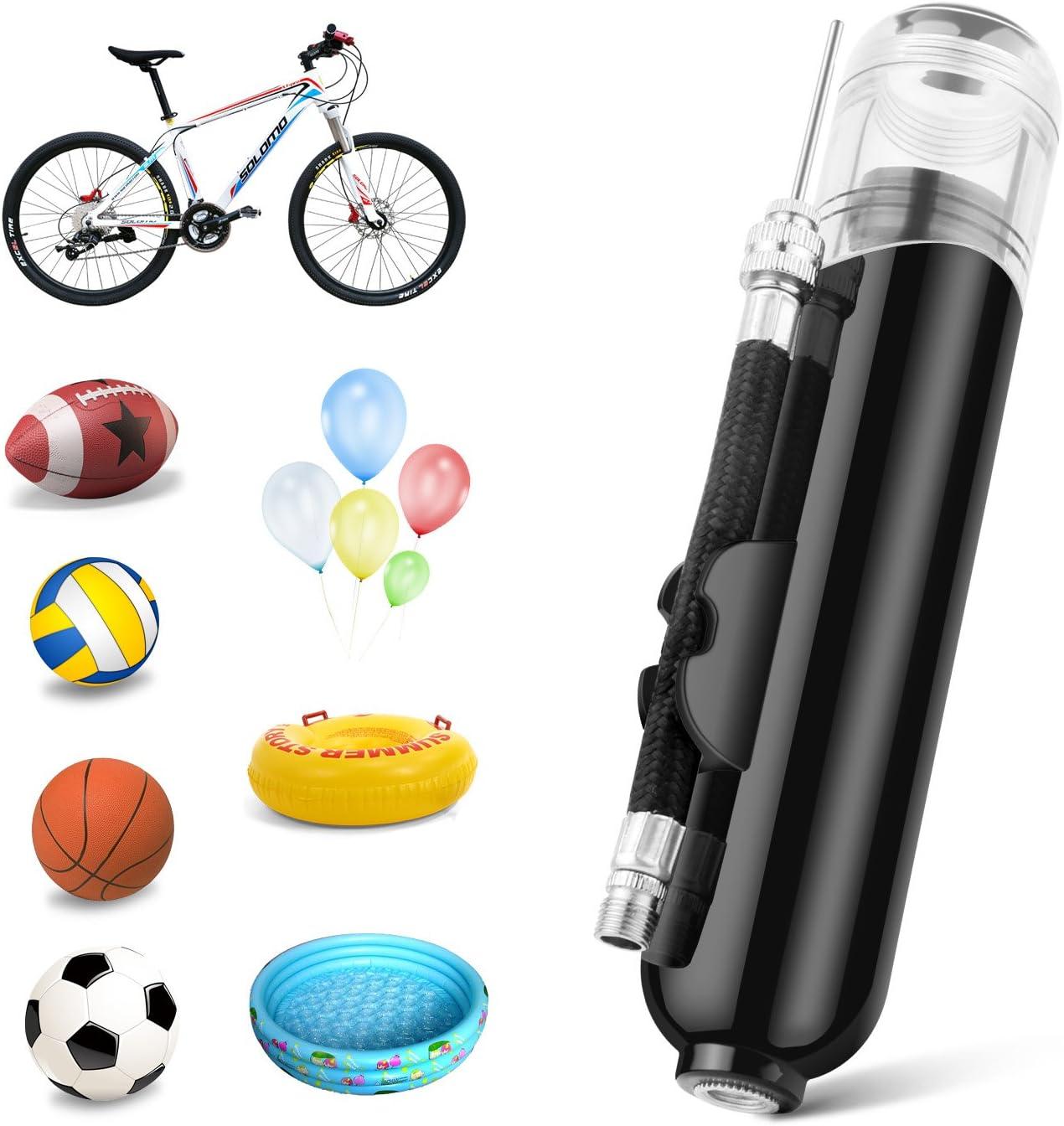 BROTOU Bomba de Bolas Bomba de Bicicleta A Mano Bidireccional ...