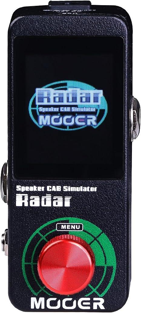 Mooer 16947 Radar - Pedal de efectos para guitarra: Amazon.es ...