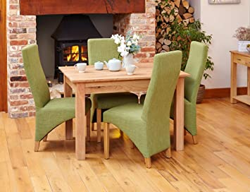 Marvelous Baumhaus Mobel Oak Dining Table 4 Seater Amazon Co Uk Home Interior And Landscaping Oversignezvosmurscom