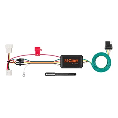 CURT 56158 Vehicle-Side Custom 4-Pin Trailer Wiring Harness for Select Honda CR-V: Automotive