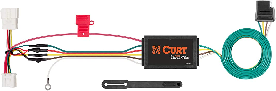 [NRIO_4796]   Amazon.com: CURT 56158 Vehicle-Side Custom 4-Pin Trailer Wiring Harness for  Select Honda CR-V: Automotive | Curt 4 Wire Trailer Wiring Diagram |  | Amazon.com