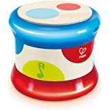 Hape Baby Drum | Colorful Rolling Drum Musical Instrument Toy For Toddlers, Rhythm & Sound Learning, Battery Powered (E0333)