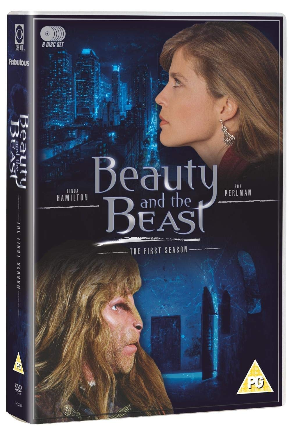 Beauty and the Beast - The First Season DVD 1987 by Linda ...
