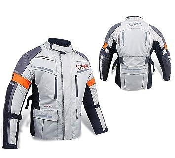 Chaqueta de moto motocicleta Chaquetas con impermeable con armadura: Amazon.es: Coche y moto