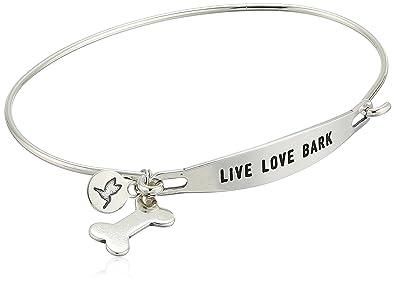 c302e880aa339 Chamilia Live Love Bark Bangle Bracelet