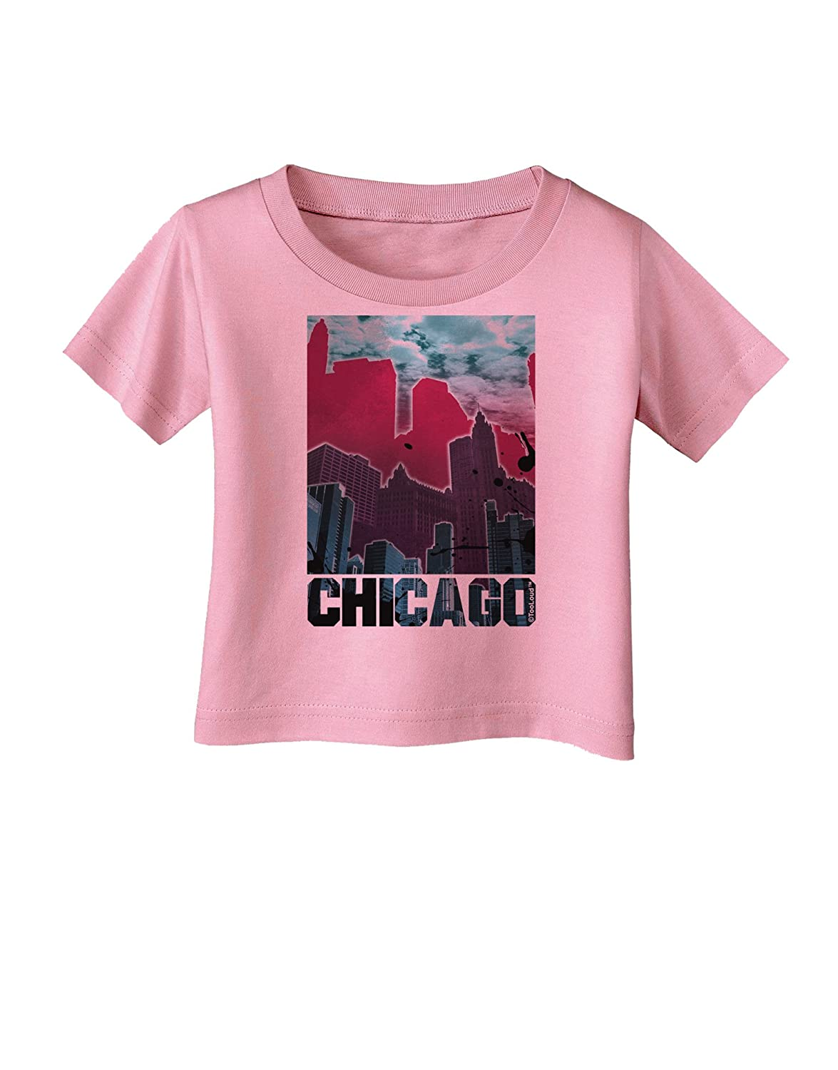 TooLoud Chicago Abstract 2 Infant T-Shirt