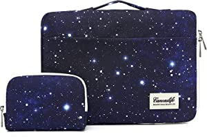 Canvaslife Sapphire Blue Sky 360° Protective Waterproof Laptop Case Bag Sleeve with Handle (14 inch)