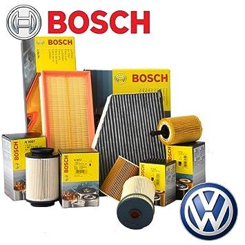 Kit Tagliando 4 filtros Bosch + 5lt Aceite Mobil 1 ESP 5 W30: Amazon.es: Coche y moto