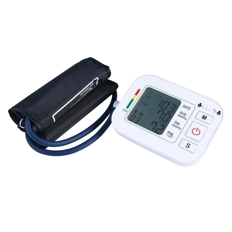 niceeshop (TM) profesional Smart Digital brazo Tensiómetro Tensiómetro de medición dispositivo Medidor de sonido hematoma anometer sphygmo Manómetro ...