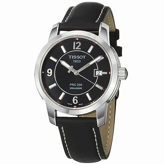 Tissot T0144101605700 - Reloj para hombres, correa de cuero color marrón