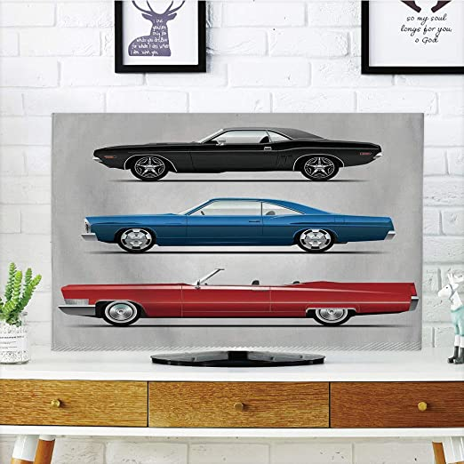 iPrint - Cubierta antipolvo para televisor LCD, coches, potente ...