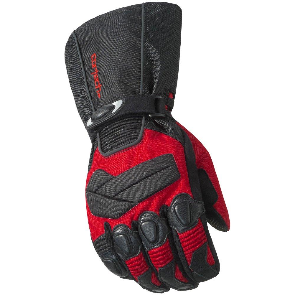 Cortech Cascade 2.0 Men's Winter Sport Snowmobile Gloves - Red/Black / X-Small