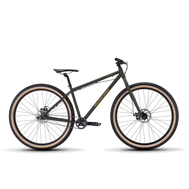 32fa7e27 Amazon.com : Redline Bikes Monocog 29 Single Speed Mountain Bike, Green :  Sports & Outdoors
