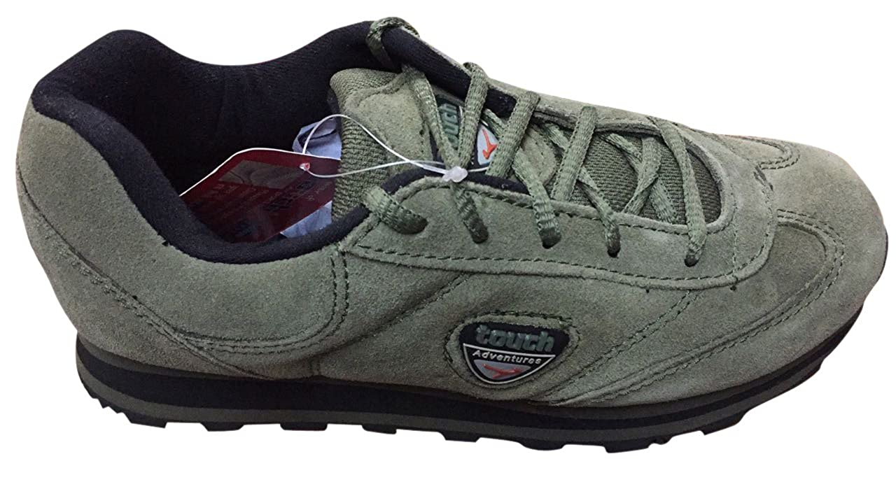 37fda0444e Lakhani Mens Touch Olive Olive Casual Shoe-7: Buy Online at Low Prices in  India - Amazon.in