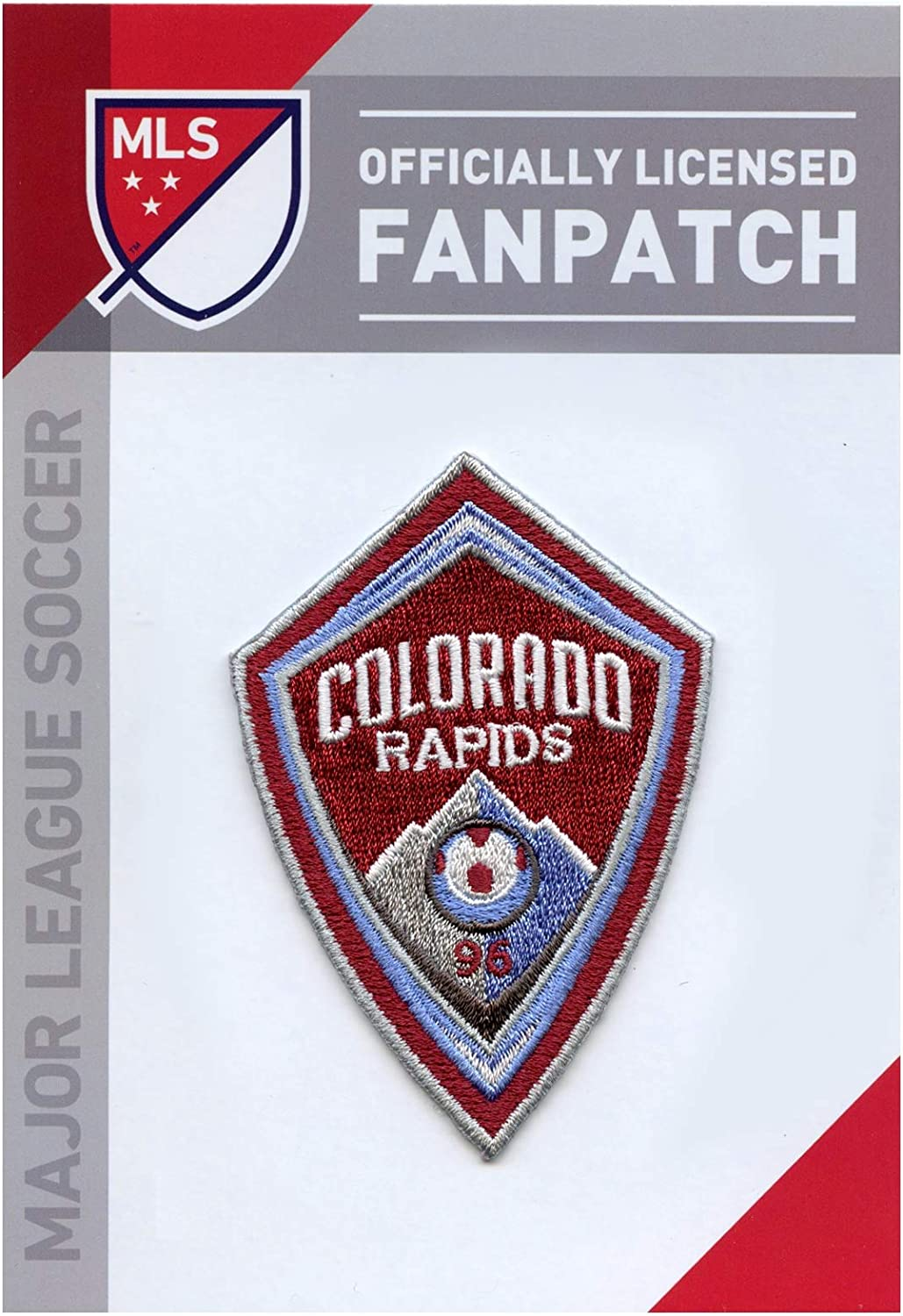 Colorado Rapids Soccer Team Crest Embroidered Jersey MLS Futball Patch
