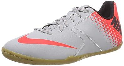 new product 48cac d6b15 NIKE Unisex Kids  Jr Bomba Ic Fitness Shoes, Multicolour (Wolf Grey Black