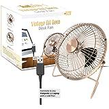 Amazon Com 3 Speeds Oscillating Retro Stand Fan 16 Quot Home