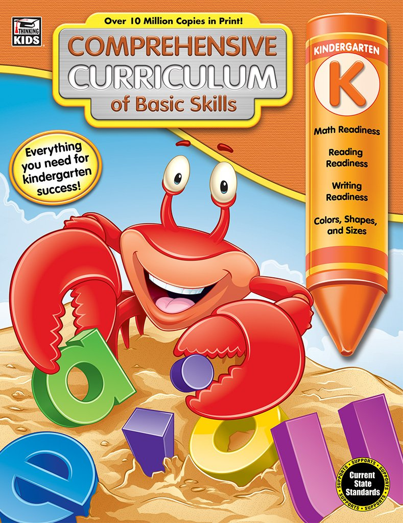 Comprehensive Curriculum of Basic Skills, Grade K: Thinking Kids ...