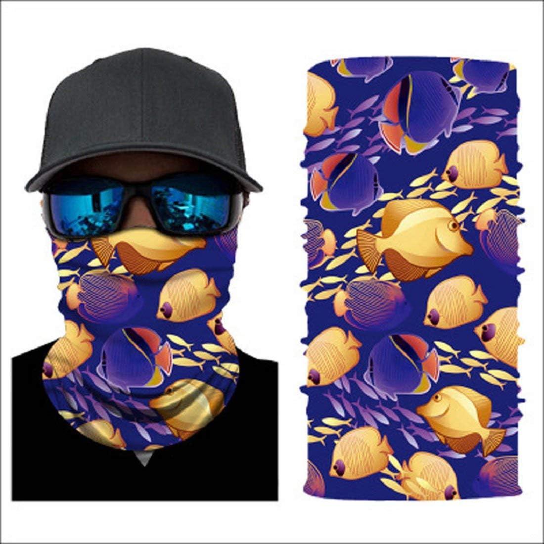 f/ür Damen und Herren ZHIZUN DEELIN Bedrucktes Multifunktionstuch Bandana Halstuch Kopftuch: Face Shield- Material ist flexibel und atmungsaktiv Maske f/ürs Motorrad- Fahrrad- und Skifahren