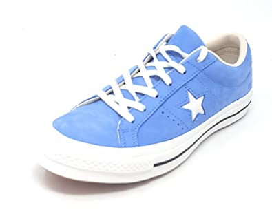 a894eef7b405 Converse One Star Ox Light Blue Egret Vintage White (5 D US)