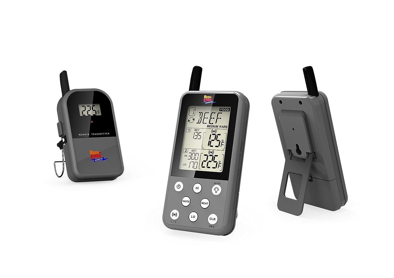 Maverick ET 733 Gray Long Range Wireless Dual Probe BBQ Smoker Meat Thermometer Set ET733Gray