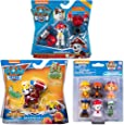 Paw Patrol Toys | Mighty Pups | 3-Pack | Marshall Action Figures with Jetpacks & Water Rescue Pack Cake Topper | for Kids Girls and Boys Age 3, Age 4, Age 5, and Up…