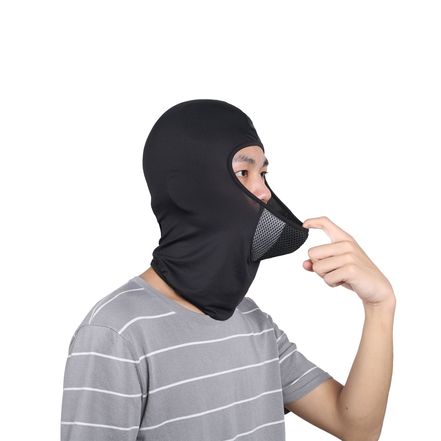 Balaclava Hiking Dust /& breathable Outdoor Multifunctional Summer Windproof Full Face Mask for Cycling Motorcycle