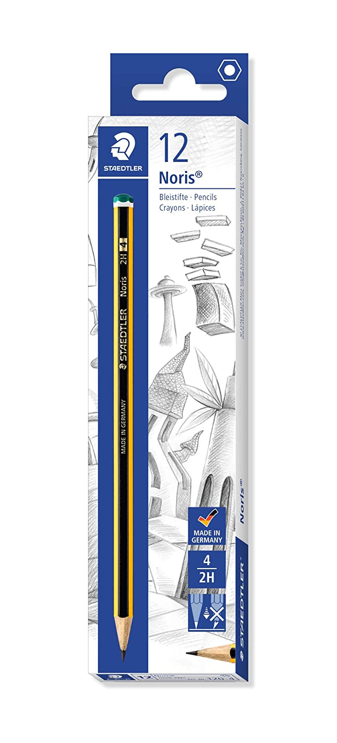 Grey Derwent 34213 Graphic Hard Graphite Drawing Pencils Set of 12 Professional Quality
