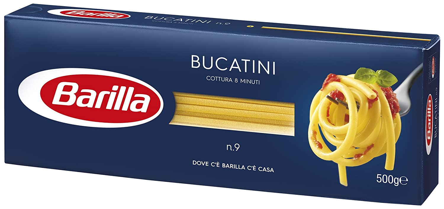 com barilla bucatini gr import com barilla bucatini 9 500 gr import grocery gourmet food
