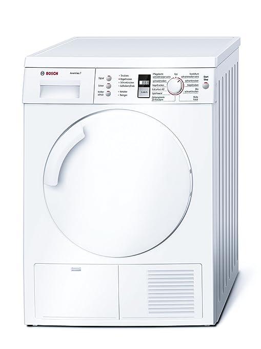 Bosch WTE843A5 - Secadora (Independiente, Carga frontal, Blanco ...