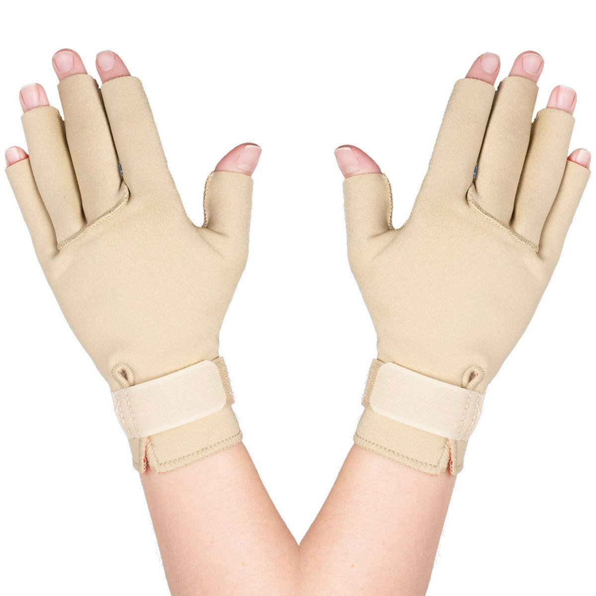 Thermoskin Arthritis Gloves, Beige, Medium