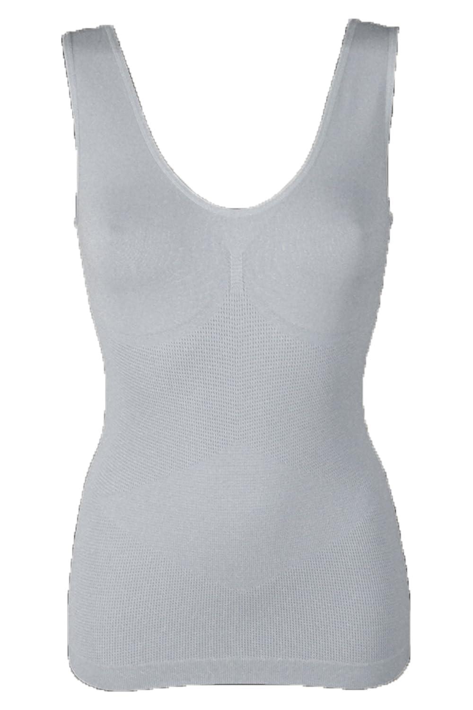 Unterhemd Slim Unterwäsche Form-Top Hemd figurformend Damen Formhemd