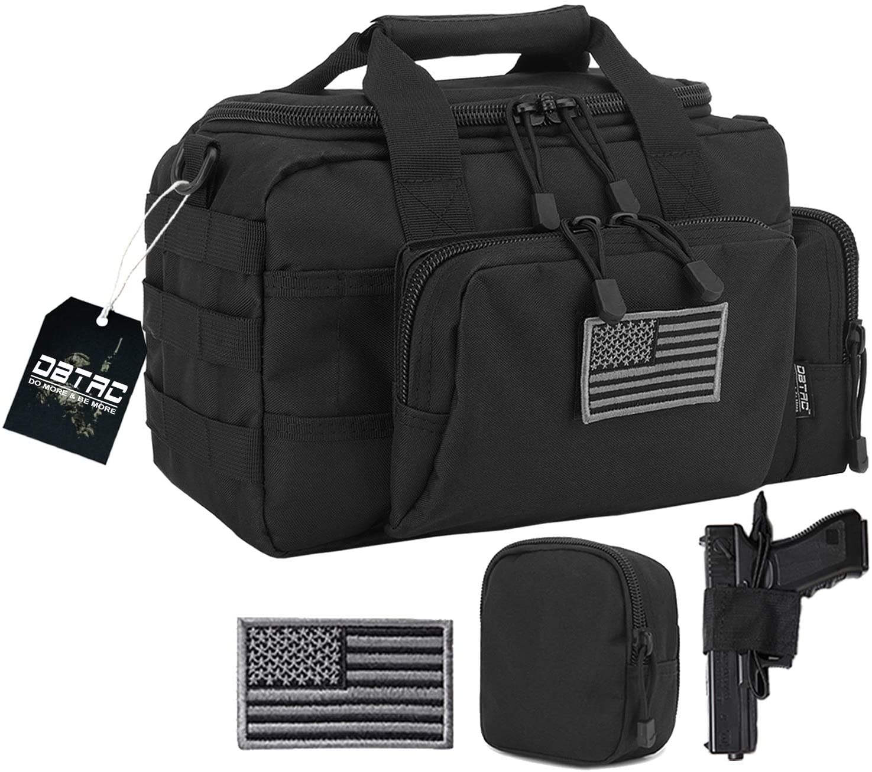 Waterproof Pistol Handgun Range Bag Revolver Pouch Soft Gun Case Tactical Gear