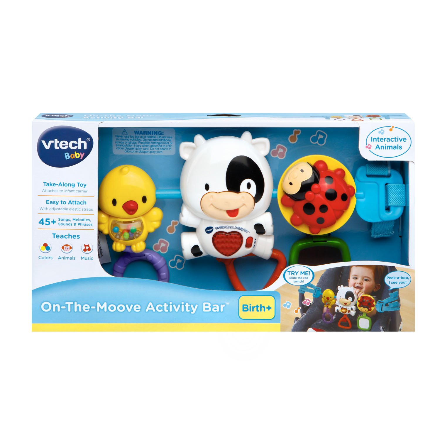VTech Baby On The Moove Activity Bar
