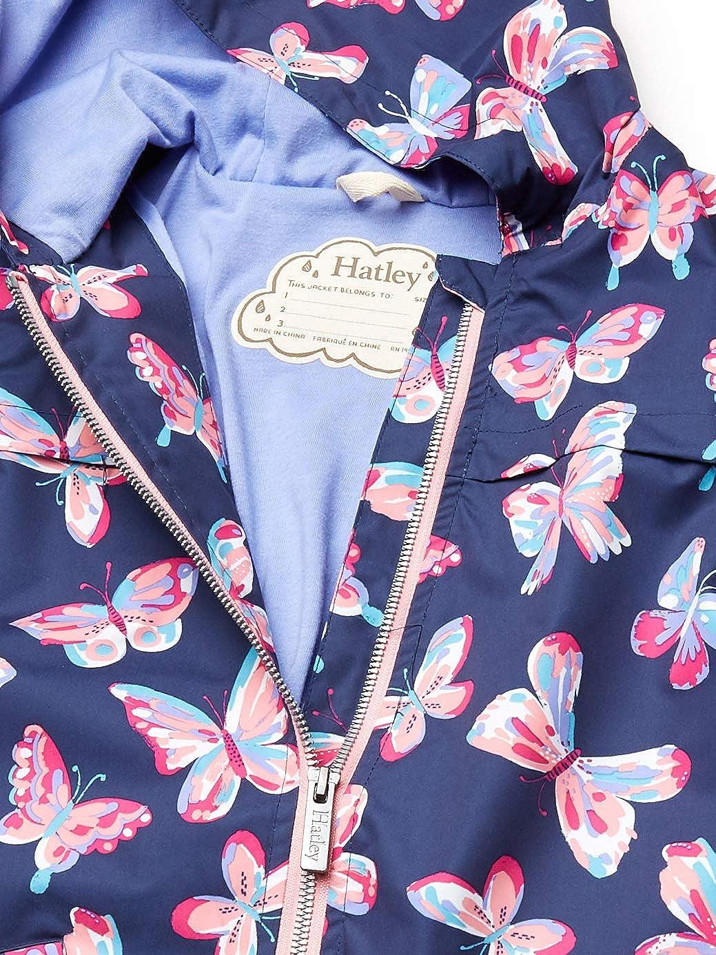 Hatley Girls Microfiber Rain Jackets