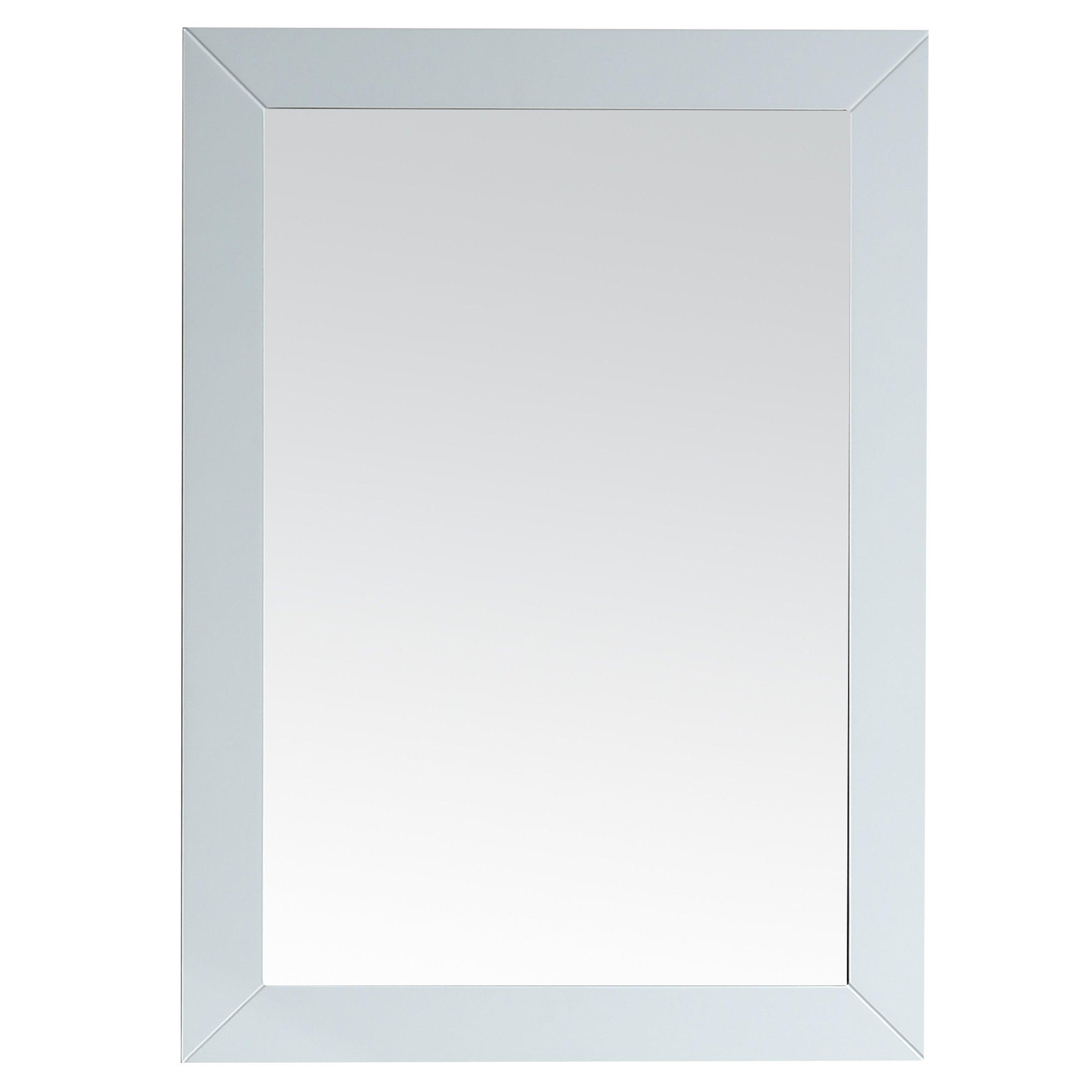 Eviva EVMR69-30WH Acclaim Bathroom Mirror Combination, White by Eviva