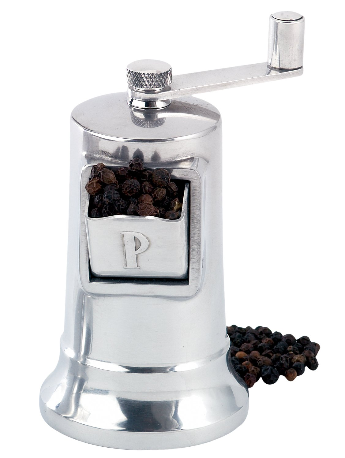 Perfex Adjustable Pepper Grinder Mill, Made in France, High-Carbon Steel Mechanism, 4.5-Inches