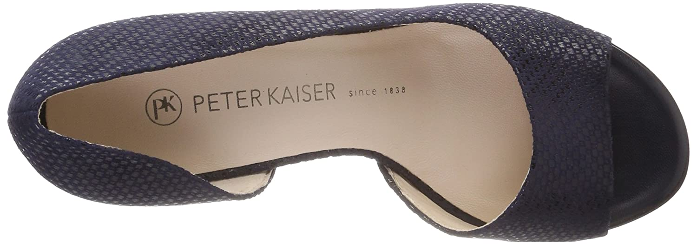 Peter Kaiser Damen (Notte Jamala Peeptoe Pumps Blau (Notte Damen Topic) fdf8c4