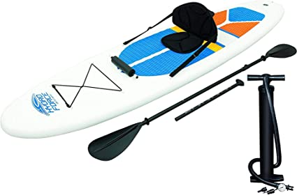 Amazon.com: HydroForce - Tabla de surf de remo hinchable ...