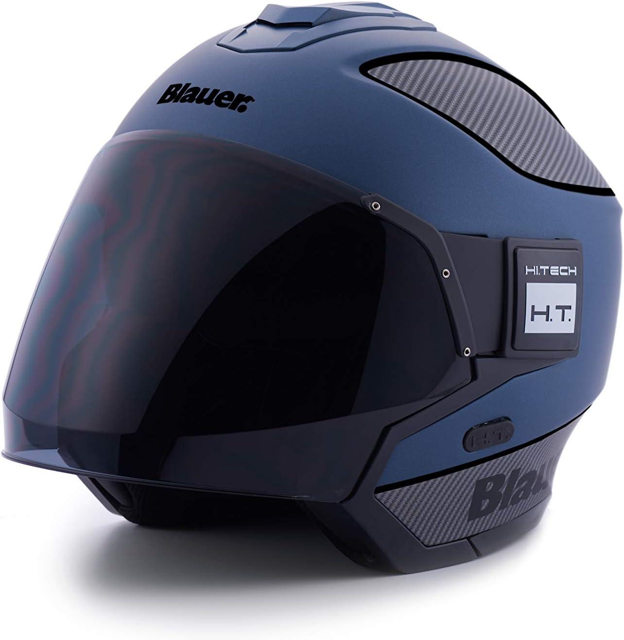 Blauer Hi Tech jet