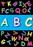 ABC books for kids [Basic A-Z Flash Cards] And ABC song [Animation mp4 Video] (English Edition)