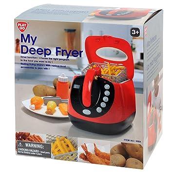 Playgo 3684 - Mi freidora, pilas, juguetes de cocina: Amazon.es ...