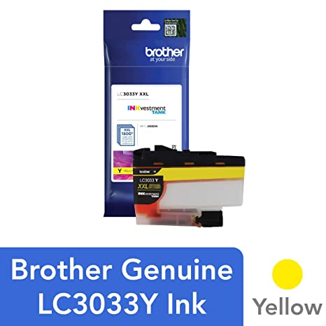Amazon.com: Brother LC3033Y - Cartucho de tinta para ...
