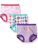 Nickelodeon Girls' Paw Patrol Girl 3pk Training Pant