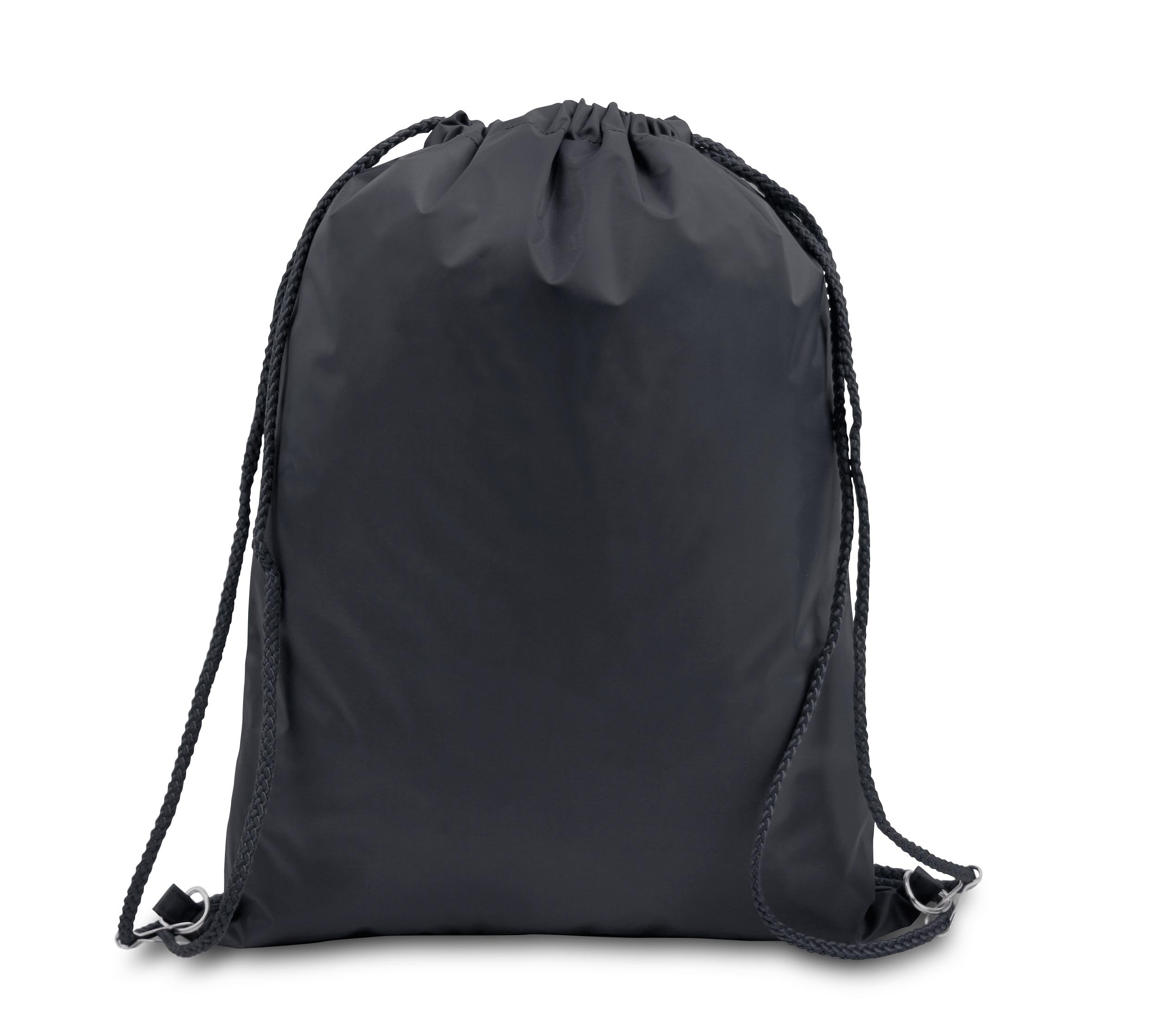 DRAWSTRING BACKPACK, Black, Case of 48 by DollarItemDirect