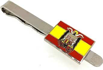 Gemelolandia Pasador de Corbata de la Bandera de España Aguila San Juan: Amazon.es: Ropa y accesorios
