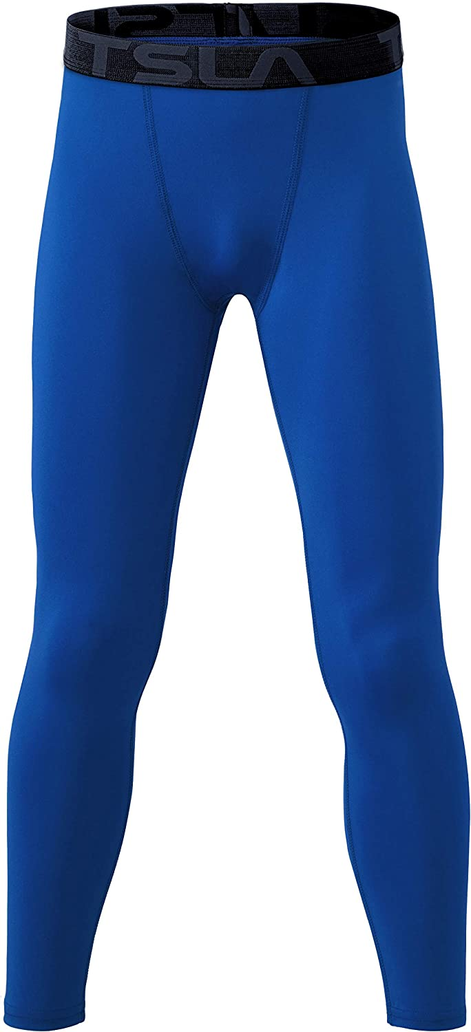 Girls Sports 4-Way Stretch Workout Leggings TSLA Boys Youth UPF 50  Compression Pants Baselayer Cool Dry Active Running Tights Sports &  Outdoors samel.com.br