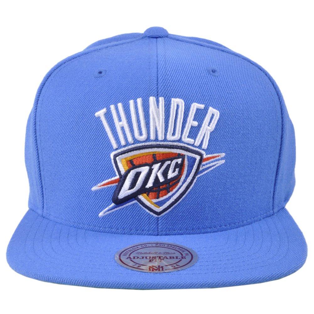 Amazon.com  OKC Thunder Mitchell Ness Durant Westbrook NBA Snapback Hat   Clothing 8efb5e697725