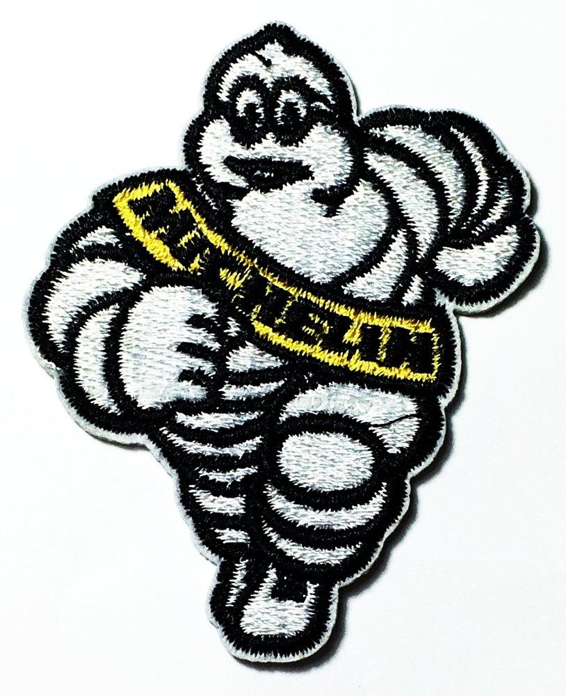 【超特価sale開催】 ミシュランロゴパッチ 刺繍 刺繍 ジャケットやTシャツにアイロンで接着 タイヤ/オートバイ B01KI45U3E/車/レース/ナスカー/バイカー B01KI45U3E, 愛用 :ca2245f4 --- a0267596.xsph.ru